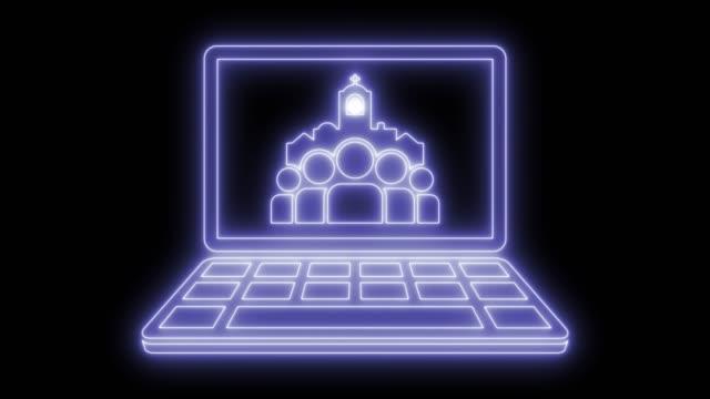 vídeos y material grabado en eventos de stock de página web católica - misa
