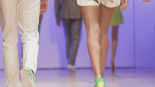 Catwalk show video