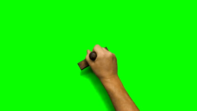 백인 남성 손 스탬프 여러 번 오른손과 왼손잡이 - stamp 스톡 비디오 및 b-롤 화면