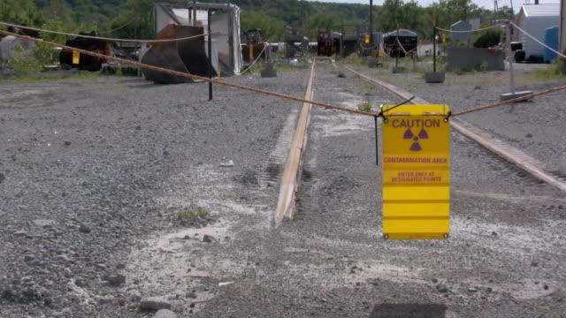Caution Contamination Area video
