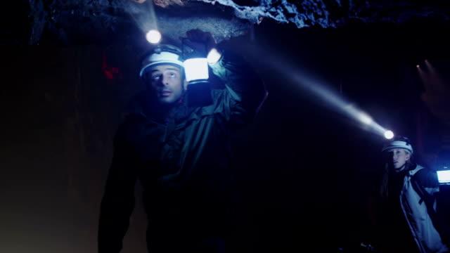 Cave exploration video
