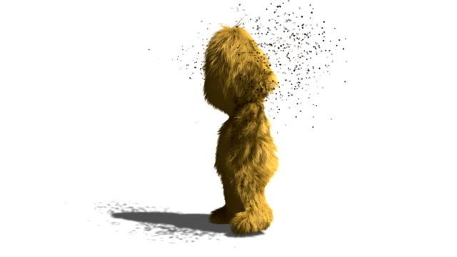 Caveman is Having a Swarm Problem video