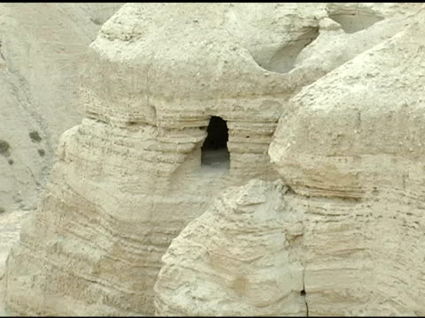 Caves where Dead Sea Scrolls were Discovered