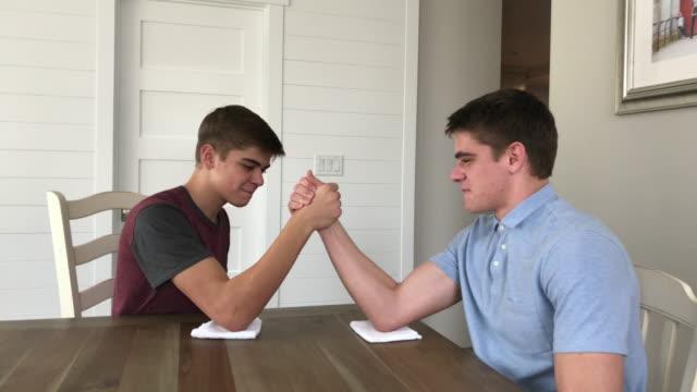 CC-Kraft-Family1-StillsVideo Arm Wrestle video