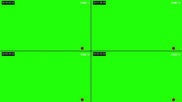 cctv-anzeige - überwachungskamera stock-videos und b-roll-filmmaterial