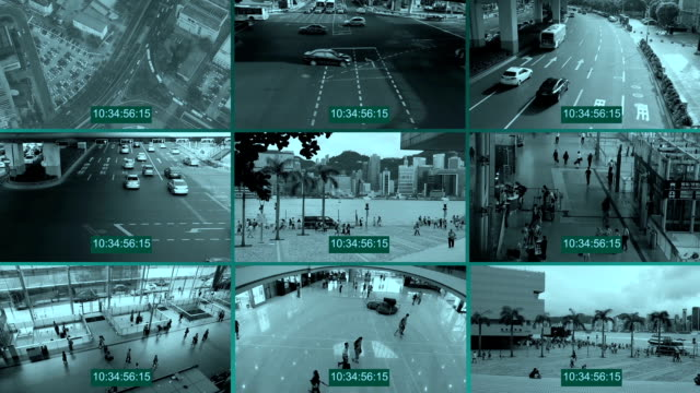 cctv - überwachungskamera stock-videos und b-roll-filmmaterial