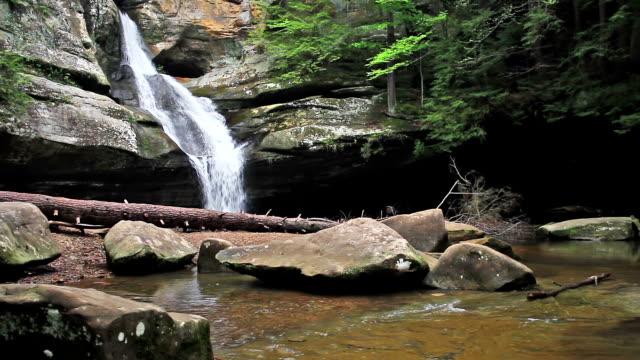 cedar falls 루프 - 언덕 스톡 비디오 및 b-롤 화면