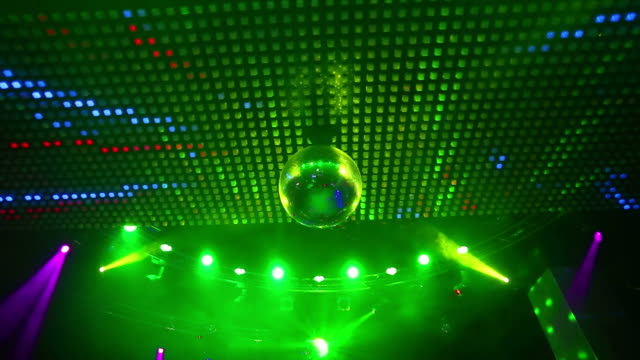 Royalty free looking up ceiling hd video 4k stock footage b roll hd ceiling lights with disco ball loopable video aloadofball Choice Image