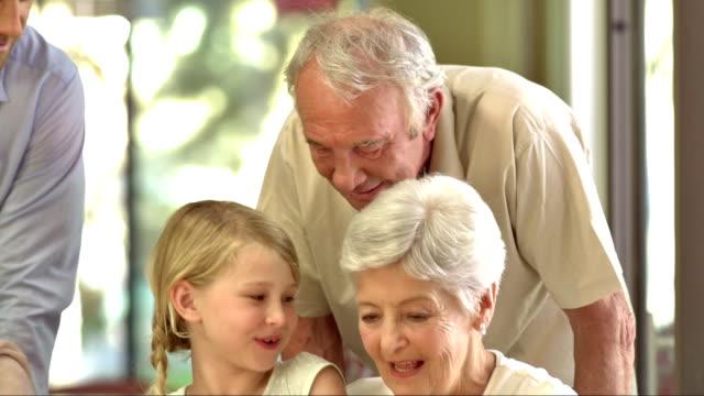 MS PAN Celebrating Grandmother's Birthday video
