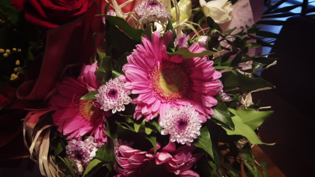 Celebration boquet with assorted colors of flowers