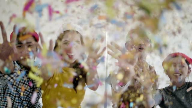 vídeos de stock, filmes e b-roll de comemoração do evento - festa da empresa