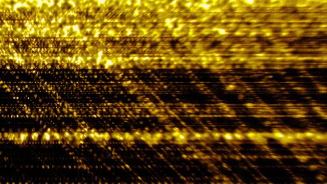 Celebration Style Background in 4k | Gold color Particle symbolize Awards etc