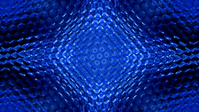 Cellular texture motion. Colorful looped graphic animation. video