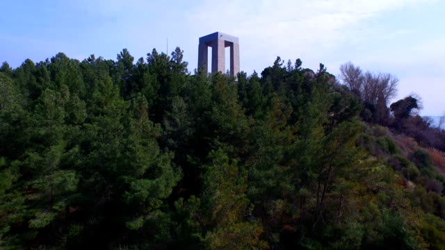 cmentarz memorial - męczennik filmów i materiałów b-roll