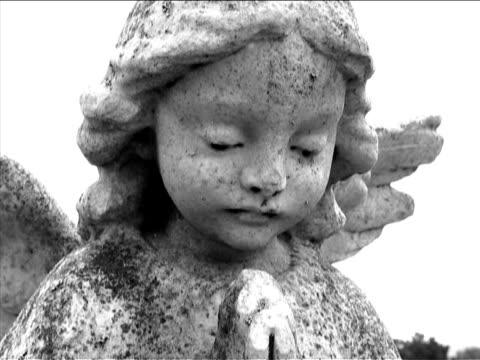 cimitero - rappresentazione umana video stock e b–roll