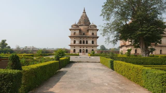 Cenotaphs at Orchha, Madhya Pradesh, India. video