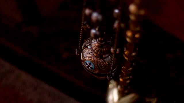 つり香炉の正教会 - 洗礼点の映像素材/bロール