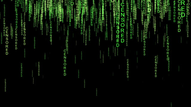 Censored online code matrix style concept video