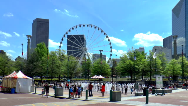 Centennial Olympic Park-Atlanta, Georgia - vídeo