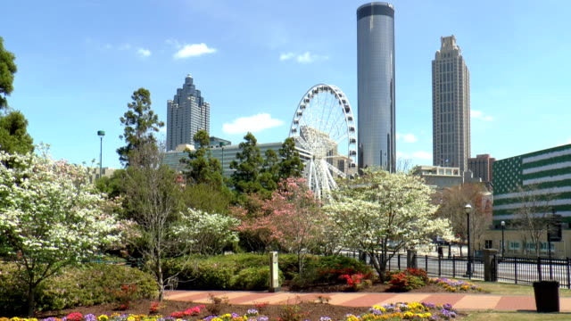 Centennial Olympic Park - Atlanta, Georgia video