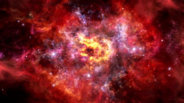 center des galaxy - sternennebel stock-videos und b-roll-filmmaterial