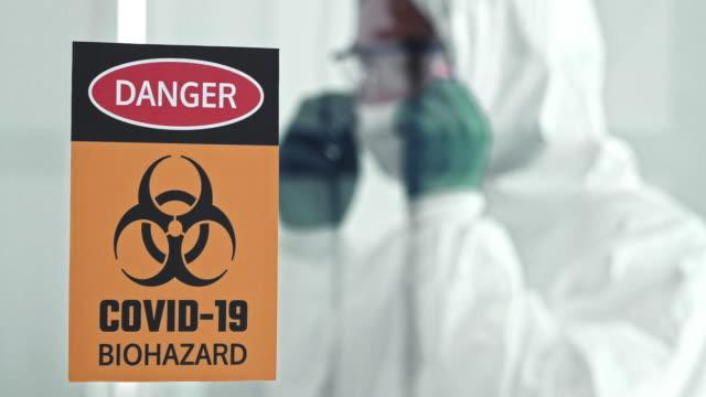 疾病管理予防センター - covid 19点の映像素材/bロール