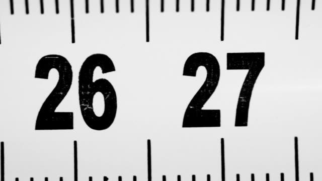 centimeters length numbers run video