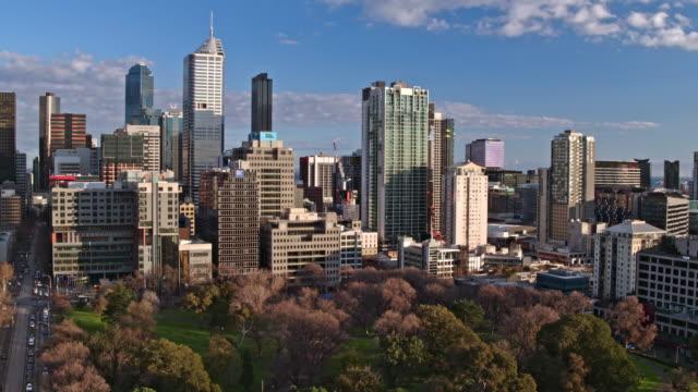セントラルビジネス地区、オーストラリア、ビクトリア州、メルボルン - オーストラリア メルボルン点の映像素材/bロール