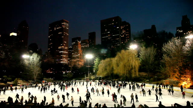 Central Park Ice Skating video