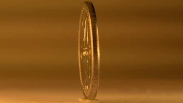 50 cent laos geld - amerikanische geldmünze stock-videos und b-roll-filmmaterial