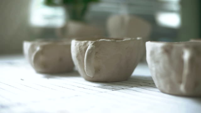 Ceramic cups manufacturing video