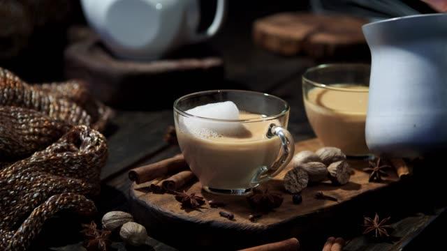 Chai latte video