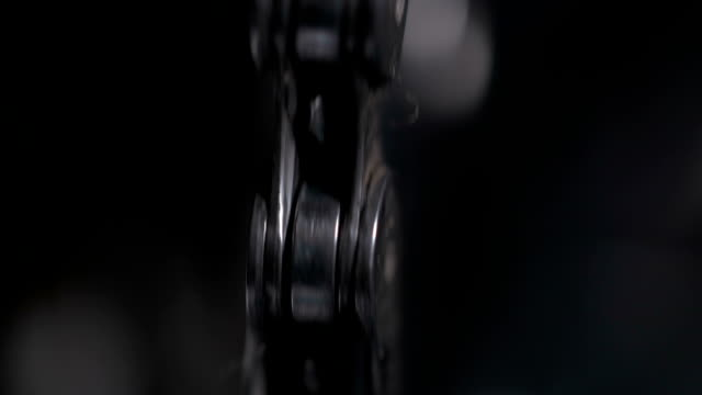 chain from the bike shot in the macro lens video