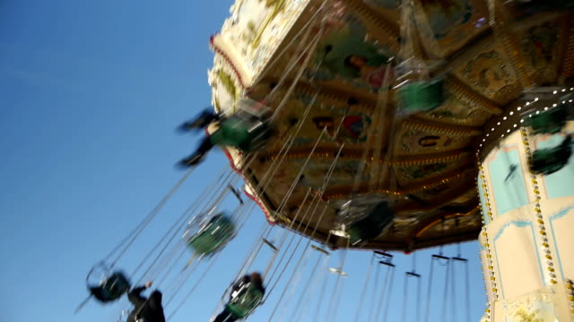 Chair O Plane Fairground Ride video