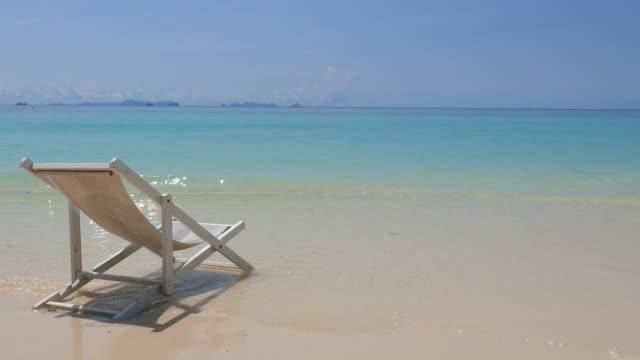 HD Chair on the beach video