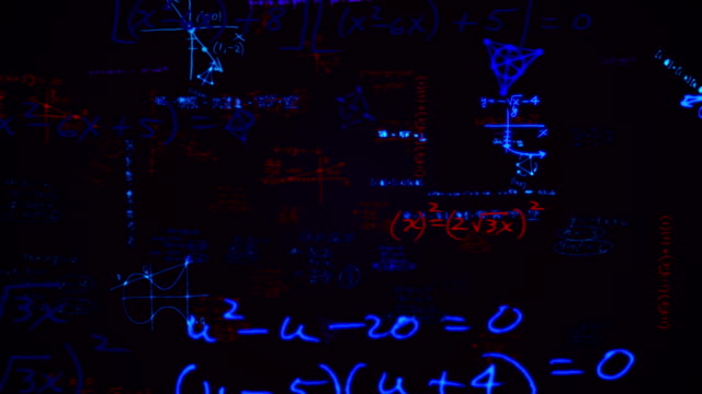chalkboard - physics stock videos and b-roll footage