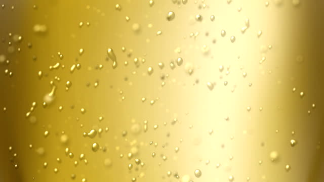champagne bubbles air increase up video