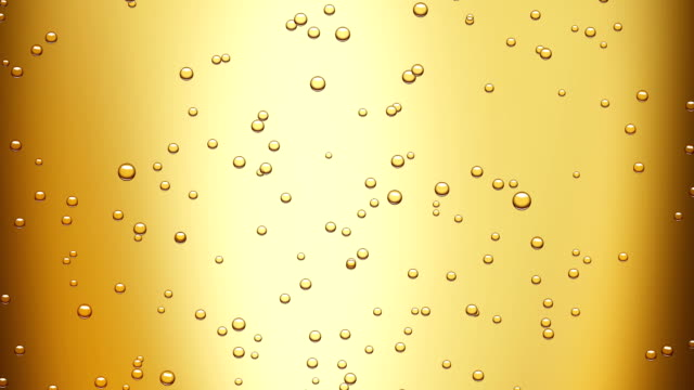 champagne bubbles (seamless loop) + alpha matte video