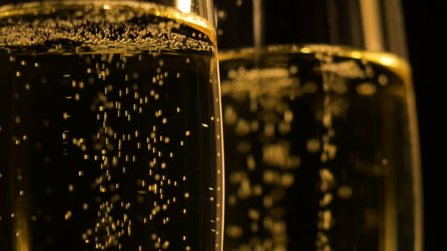 Champagne Flutes Close-up