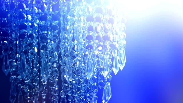 parti ışıklarda avize - avize aydınlatma ürünleri stok videoları ve detay görüntü çekimi