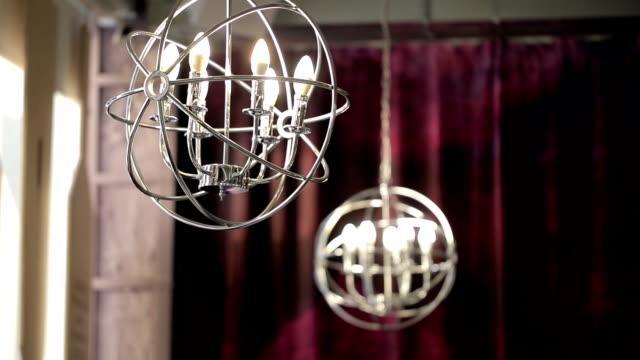 vídeos y material grabado en eventos de stock de candelabro - ojo morado
