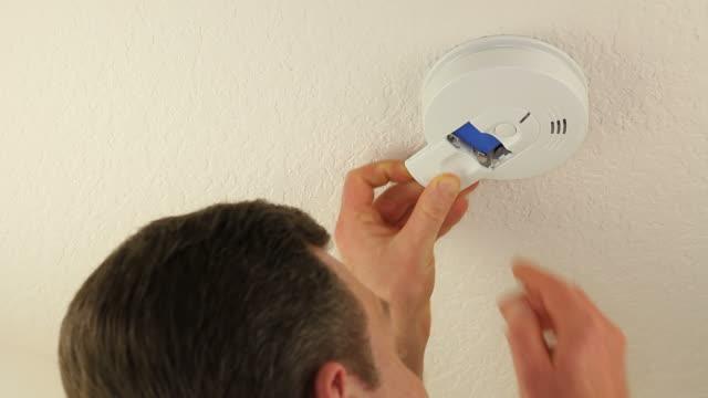 Change Battery in Smoke Detector video