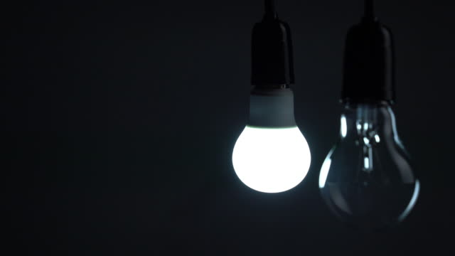 Changing incandescent bulb to LED light