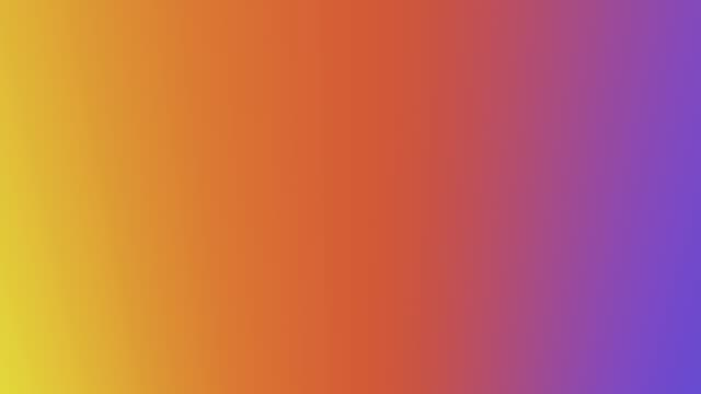 Changing rainbow colours in a 30 second loop video