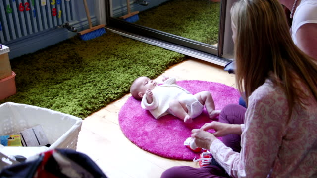 Changing the Baby video