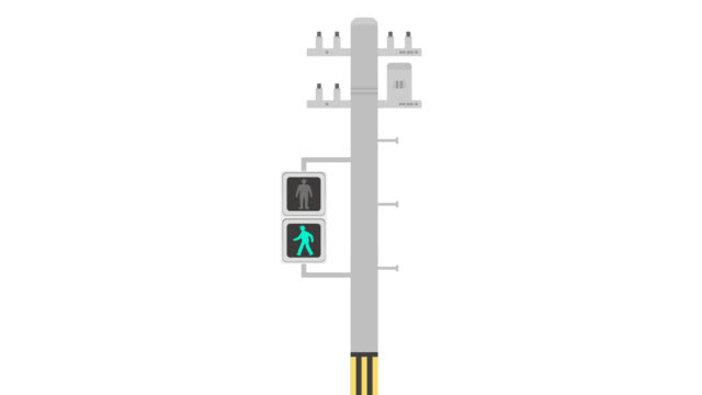 changing traffic light