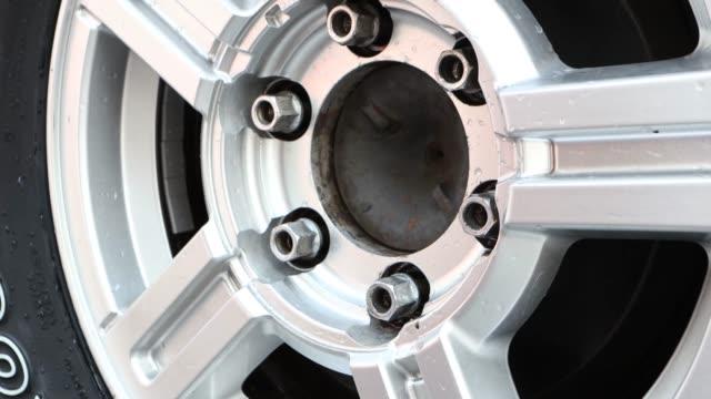 Changing wheel