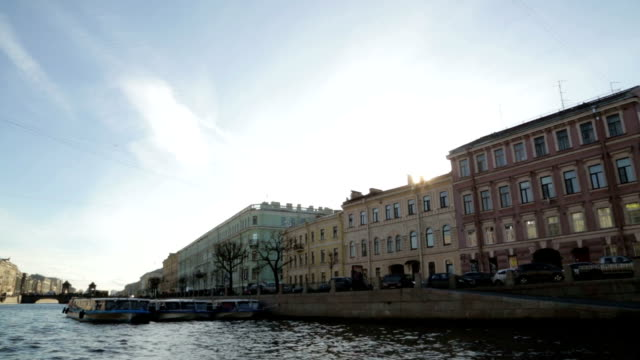 Channal in St.-Petersburg video
