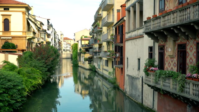 Channels and architecture of Padua. Padua, Padova is a city and comune in Veneto, northern Italy. video