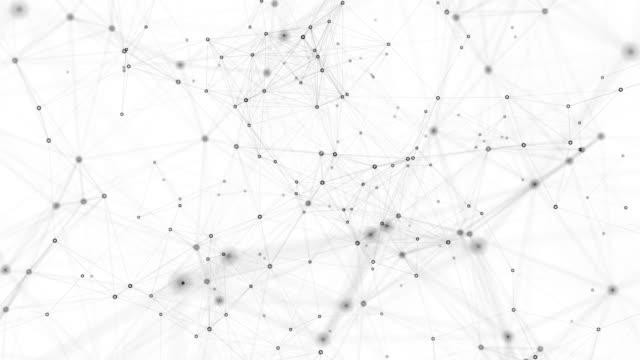 kaos bağlantıları - tasarım öğesi stok videoları ve detay görüntü çekimi